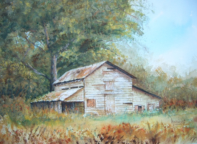 zcrlic how to draw and paint a barn